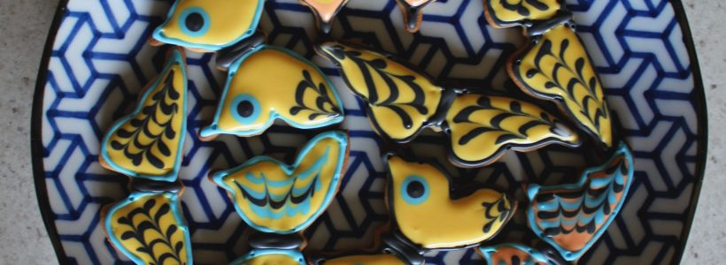 Plas Pilipala: butterfly biscuits