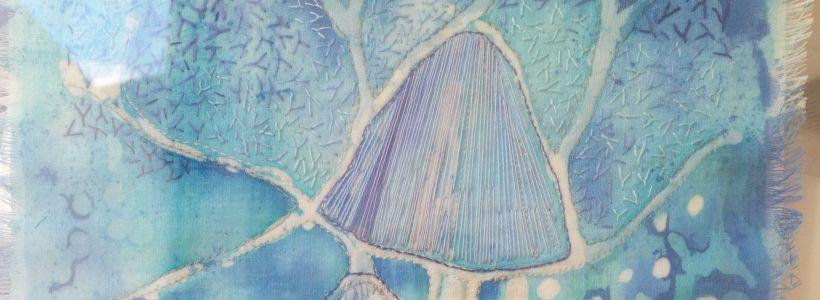Garden textile artist handcrafts national award