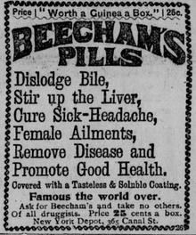 Apothecary Anecdotes: Beechams Pills